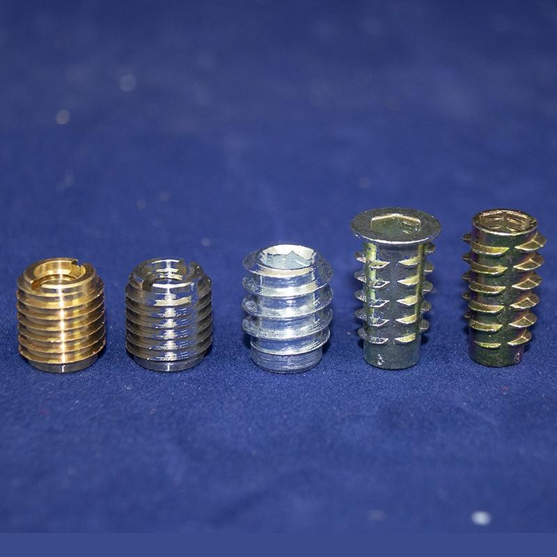 T-Piece with External-Internal External Thread-Brass Plated-MANY SIZES